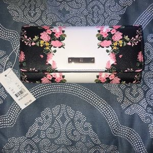 NY&Co Floral Snap Wallet